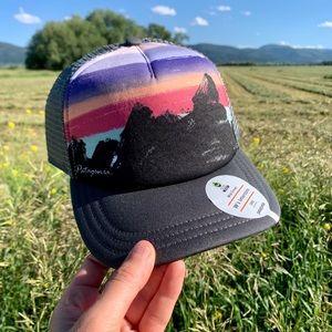 NWT Patagonia Womens Hat - Black/Dark Gray